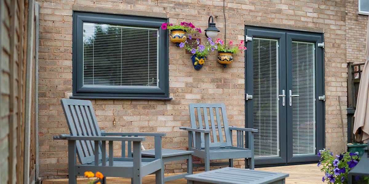 French doors upvc aluminium french doors from orion for Upvc french doors yorkshire