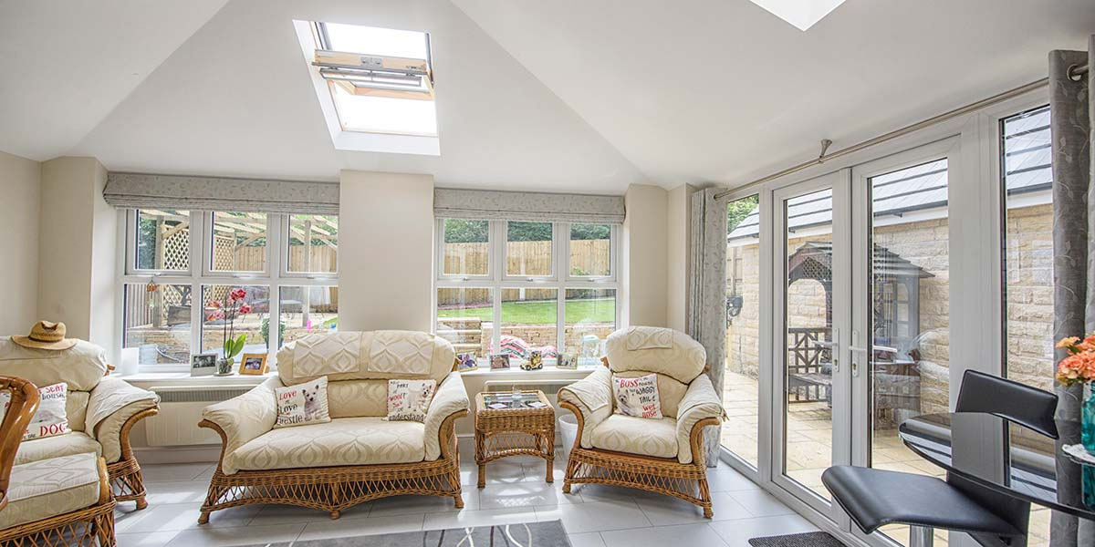 Solid Roof Conservatories Tiled Roof Conservatory From
